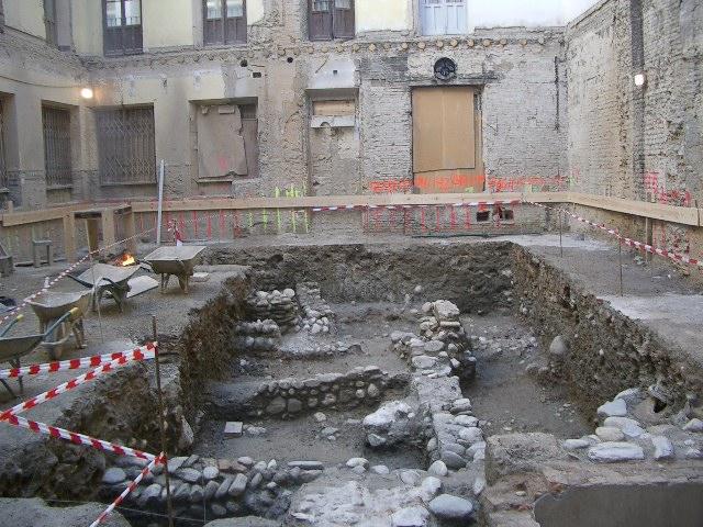 cimentaciones arqueológicas
