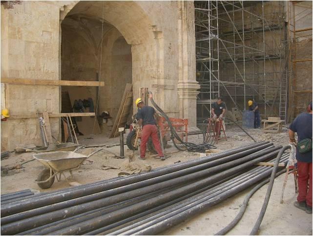 cimentaciones de edificios históricos