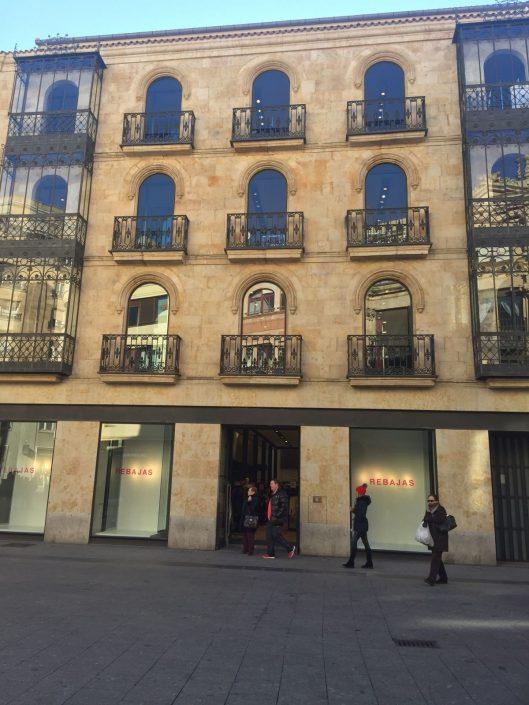 Edificio calle toro en Salamanca