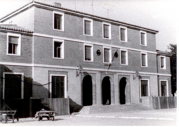 Recalce del edificio de correos en Zamora