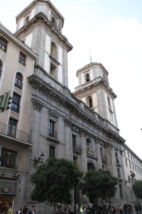 Recalce de la Catedral de La Colegiata de San Isidro en Madrid